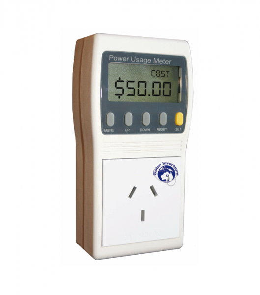 Energy Use Monitor : Power usage meter si clean energy solar renewable